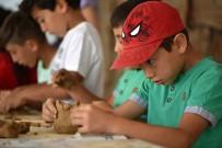Çocuklar Pişmiş Toprağı Çok Sevdi