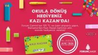 Denizli'de Okula Dönüş Hediyeleri Forum Çamlık AVM'den