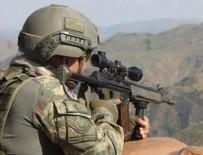 PKK TERÖR ÖRGÜTÜ - Gri listede aranan terörist etkisiz hale getirildi