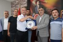 TOPLU İŞ SÖZLEŞMESİ - Hizmet-İş'ten Tuşba Belediyesi'ne Teşekkür Ziyareti