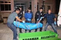 CENAZE ARACI - Karaman'da Merdiven Boşluğuna Düşen Şahıs Öldü