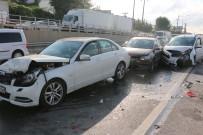 Kocaeli'de 7 Aracın Karıştığı Zincirleme Kazada Trafik Felç Oldu