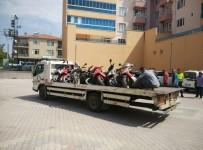 Kulu'da Ekipler Plakasız Motosikletlere Göz Açtırmıyor