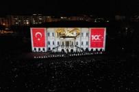 100. Yıl Heyecanı, Kongre Binasının Duvarlarında Hayat Buldu