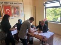 AK Parti Avanos İlçe Başkanlığında Temayül Yoklaması Yapıldı
