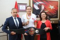 Avrupa Şampiyonundan Başkan Köse'ye Ziyaret
