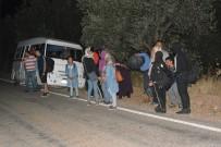 Çanakkale'de 103 Mülteci Yakalandı