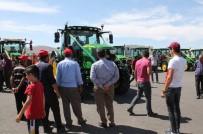 Dev Traktör Tarım Fuarının İlgi Odağı Oldu