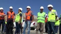 DSİ Genel Müdür Yardımcısı Dağdeviren, Baraj İnşaatını İnceledi