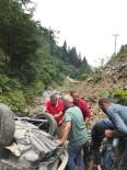 Giresun'da Trafik Kazası Açıklaması 2 Yaralı