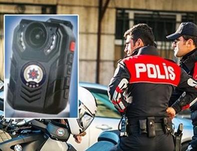 İstanbul polisine yaka kamerası