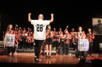 MUSTAFA DEMIR - Kadın Çalışanlardan 'Eskişehirspor Marşları' Konseri