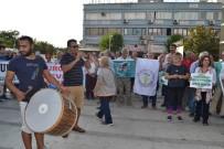 Manisa'da Kurtuluş Gününde, Davullu Zurnalı JES Eylemi