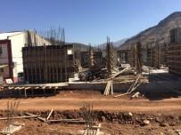 Sason Devlet Hastanesi İnşaatı Hızla Devam Ediyor
