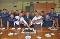 Başkan Kayda, Zabıta Haftasını Pasta Keserek Kutladı