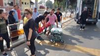 Düzce'de Otomobil İle Motosiklet Çarpıştı Açıklaması 1 Yaralı