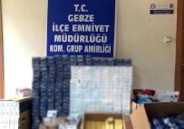 Kocaeli Merkezli Kaçak Sigara Operasyonu Açıklaması 22 Gözaltı