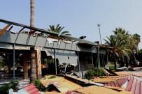 Mersin Sahilindeki Son Kafe De Yıkıldı