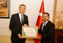 Milli Eğitim Bakanı Ziya Selçuk, Nevşehir Belediyesini Ziyaret Etti