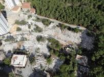 KARTAL BELEDİYESİ - (Özel) İstanbul'da Yıkılan Korku Evleri Havadan Görüntülendi