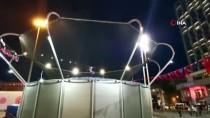 Taksim Meydanı'nda 'TEKNOFEST' Rüzgarı