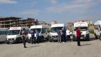 Uşak'ta 'S' Plaka Servis Araçlarına Yönelik Denetim