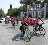 'Büyük Taarruz' Bisikletçileri Salihli'ye Ulaştı