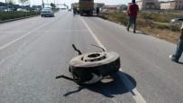 Denizli'de Otomobil Kamyona Çarptı Açıklaması 1 Yaralı