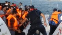 KAÇAK GEÇİŞ - İzmir'de 147 Kaçak Göçmen Yakalandı