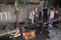 Kaldırımda Alev Alan Koltuk Evde Yangın Çıkarıyordu