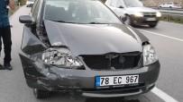 Karabük'te Trafik Kazası Açıklaması 1 Yaralı