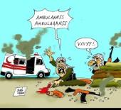 (Özel) HDP Önünde Eylem Yapan Annelere Bir Destek De Karikatür Sanatçısından