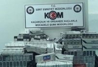 Siirt'te 9 Bin 760 Paket Kaçak Sigara Ele Geçirildi