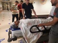 Siirt'te Kontrolden Çıkan Araç Şarampole Yuvarlandı Açıklaması 3 Yaralı