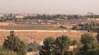 Teröristlerin Konteynır Konvoyu Suriye Sınırında Görüntülendi