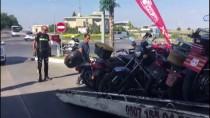 MODIFIYE - Tescilsiz, Plakasız Ve Modifiye Motosikletlere 'Özel Denetim'