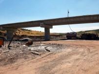 12 Köyü Musabeyli İle Gaziantep'e Bağlayacak Köprü Tamamlanmak Üzere