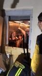 Asansörde Mahsur Kalan 6 Kişiye İtfaiyeden Operasyon