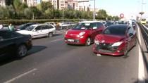 E5'te Makas Atarak Hız Yapan Gençler Zincirleme Trafik Kazasına Neden Oldu
