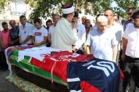Kazada Ölen Milli Futbolcu Son Yolculuğuna Uğurlandı