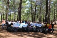 Kazdağları'ndan 1 Ton Çöp Topladılar
