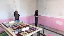 Milli Eğitim Müdürü Tulum Giyip Okulu Boyadı