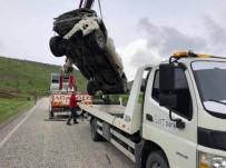 Siirt'te Trafik Kazası Açıklaması 2 Yaralı