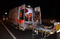 Turgutlu'da Trafik Kazası Açıklaması 3 Yaralı