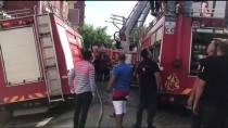 Zonguldak'ta Çatı Yangını