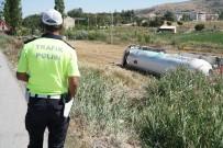 20 Ton LPG İle Takla Atan Tanker Boşaltılacak