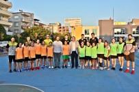Akhisar Sokaklarında Basketbol Coşkusu Yaşandı