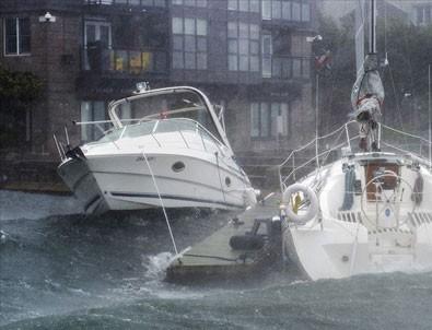 Dorian kasırgası Kanada kıyılarında etkili oldu