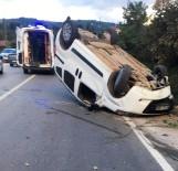 Fatsa'da Trafik Kazası Açıklaması 1 Yaralı