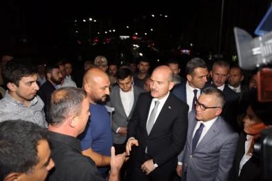 İçişleri Bakanı Süleyman Soylu, Yaralı Emniyet Müdürünü Ziyaret Etti